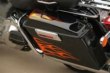 Custom Flame Graphics Fit Harley Ultra Classic, Electra Glide Saddle Bags