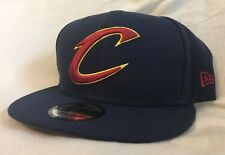 reputable site fe2e1 41357 Cleveland Cavaliers Cavs NBA New Era 9Fifty Primary  C  Blue Snapback ...