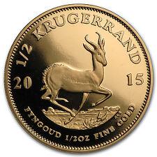 2015 South Africa 1/2 oz Proof Gold Krugerrand - SKU #97938