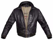 LEVI'S Leather Jacket Men's lederjacke Levis Levi Dark Brown S / M Coat VINTAGE