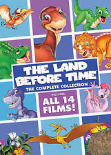 Land Before Time: The Complete Collection (DVD, 2016, 8-Disc Set) Ships FAST FL