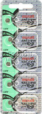 Maxell 379 SR521SW SR521 V379 SR63 JA Watch Battery 0% MERCURY ( 5 PC )