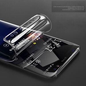 Screen Protector TPU Film For Samsung Galaxy S6 S7 edge S8 S9 S10 S20 Ultra Plus