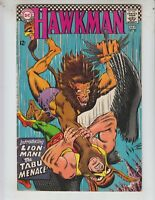 "Hawkman 20 VG+ (4.5) 7/67 ""Lion-Mane The Tabu Menace!"""