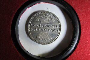 Germany 1922A 50 Pfennig Weimar Republic 50 Pfennig 1922A Berlin Mint