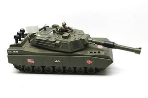 GI Joe US Army Tank 2HQ-12 Hasbro Vintage 2001 Plastic Battery Operated Toy
