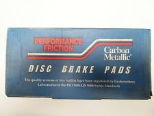 NEW PERFORMANCE FRICTION CARBON METALLIC FRONT BRAKE PADS 0368.20 / D368