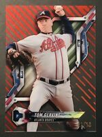 Tom Glavine 2018 Topps High Tek MLB Baseball Atlanta Braves Break SSP RED #d/10
