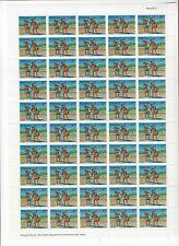 TOKELAU SCOTT # 69-72 COMPLETE SET OF SHEETS OF 50 MNH