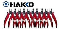 Hakko CHP PN-20-M Steel Super Specialty Pointed Nose Micro Pliers with Smooth Ja
