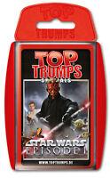 Top Trumps - Star Wars Episode I 1 - Spiel Quartett Quartettspiel Kartenspiel