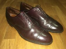 Allen Edmonds Fifth Avenue Dress Shoes / Oxblood 10 C Great Condition