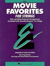 NEW Essential Elements Movie Favorites for Strings: Cello by Elliot Del Borgo