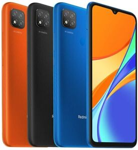 "Xiaomi Redmi 9C (2GB+32GB) 6.53"" HD+ Triple Camera 5000 mAh GSM Factory Unlocked"