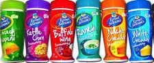 PACK of 6 Flavors KERNEL SEASON'S Popcorn Seasonings season Variety Sampler Kit