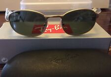 NEW! Vintage Bausch & Lomb Ray-Ban Sidestreet Matte Gold Metal Sunglasses W2842
