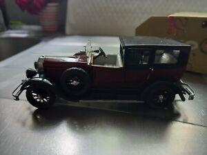 Rare Rio made in Italy Bugatti Royale 1929 neuve avec boite Abimée