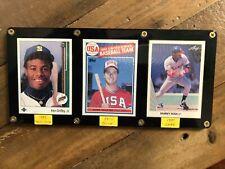 Ken Griffey Jr. 1989, Mark McGwire 1985, Sammy Sosa 1990 Rookie Cards