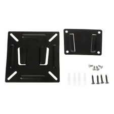"Wall Mount Bracket For 12""-24"" Flat Panel LCD LED Plasma Monitor TV PC Screen"