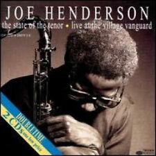 JOE HENDERSON STATE OF THE TENOR VOLS 1 & 2 LIVE AT THE VILLAGE VANGUARD 2 CD