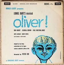 """Oliver!"" Decca LK4359 Mono Original Cast Recording 1960 Ron Moody"