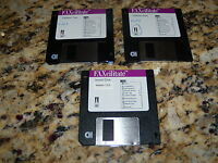 FAXcilitate Utilities Verion 1.03 (Mac, 1993) 3.5 floppy disks