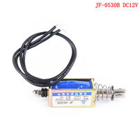 JF-0530B Push&Pull Open Frame Electromagnet keepping Force Linear SolenoidE9C