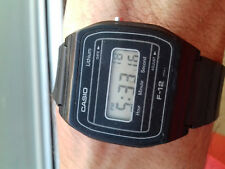 Casio VINTAGE(1984) F-12 MODULE 500 WATCH ULTRA RARE JAPAN R MONTRE COLLECTORS