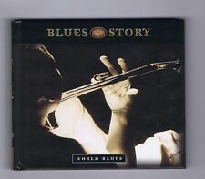 CD BLUES STORY WORLD BLUES P.PERSONNE ZUCCHERO MILTEAU SANTANA MONTOYA GARETT