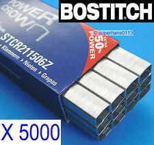 5000 x B8 Bostitch 6mm Staples STCR211506Z Fit B8R, B8000, B8E, B8HC, B8HDP, B8P
