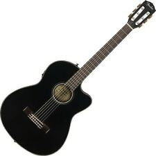 Fender CN-140SCE Nylon Thinline Black WN 4/4 Konzertgitarre inkl. Koffer   Neu