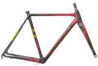 2016 Ridley X-Night SL Disc Cyclocross Frame Set 52cm Medium Carbon 10x135mm
