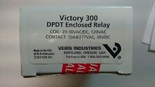 Veris Industries Victory 300, Series 10A enclosed DPDT pilot-duty relays