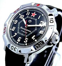 WATCH Men's VOSTOK  KOMANDIRSKIE # 811744 RUSSIAN NEW