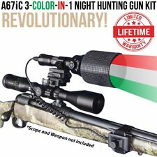 Wicked Lights A67iC 3-Color-In-1 Night Hunting Gun Light Kit coyote, hog W2021