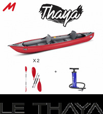 Pack kayak gonflable Gumotex Thaya 2 places.