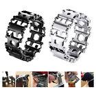 29 in 1 Multi Tool Bracelets Multifunction Repair Bracelet Stainless SteelB .