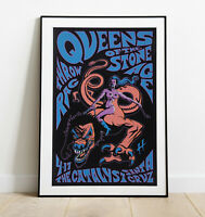 Queens Of The Stone Age Poster, Rock Band Print