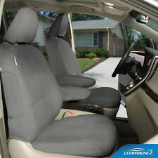Coverking Poly Cotton Drill Tailored Front Seat Covers for Subaru Forester