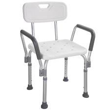 Medical Bath Shower Seat Safety Support Bathtub Bench Chair Stool Armrest Back