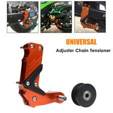 Universal Motorcycle Adjuster Chain Tensioner Antiskid Large Guide Regulator CNC