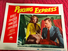 Peiking Express 1951 Paramount lobby card Joseph Cotten Corinne Calvet