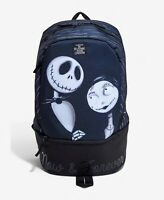 Disney The Nightmare Before Christmas Backpack Bag Jack Sally Bioworld NEW