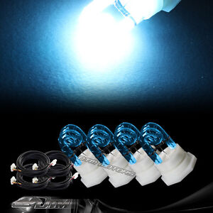4X Replacement Bulbs For 120 / 160 Watt Hide A Way Strobe Light B- Blue