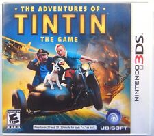 The Adventures of Tintin: The Game (Nintendo 3DS, 2011) NEW Factory Sealed Game
