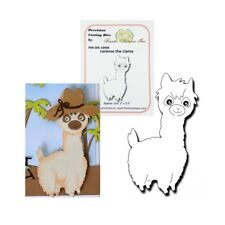 Lorenzo LLama metal die cut Frantic Stamper cutting dies animals farm zoo