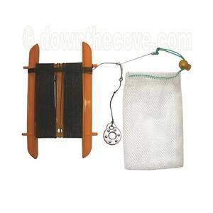 Sea Hand Line, Handline for Crabbing - Crab Fishing Net Bag & Line - FAST POST!