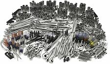 540 Pcs Ultimate Mechanic Garage Heavy Duty Tool Set SAE Metric Wrench Ratchet