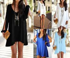 Chiffon Short Solid Party/Cocktail Dresses for Women