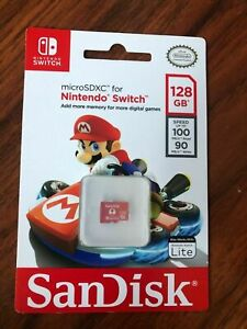 SanDisk - 128GB microSDXC Memory Card for Nintendo Switch